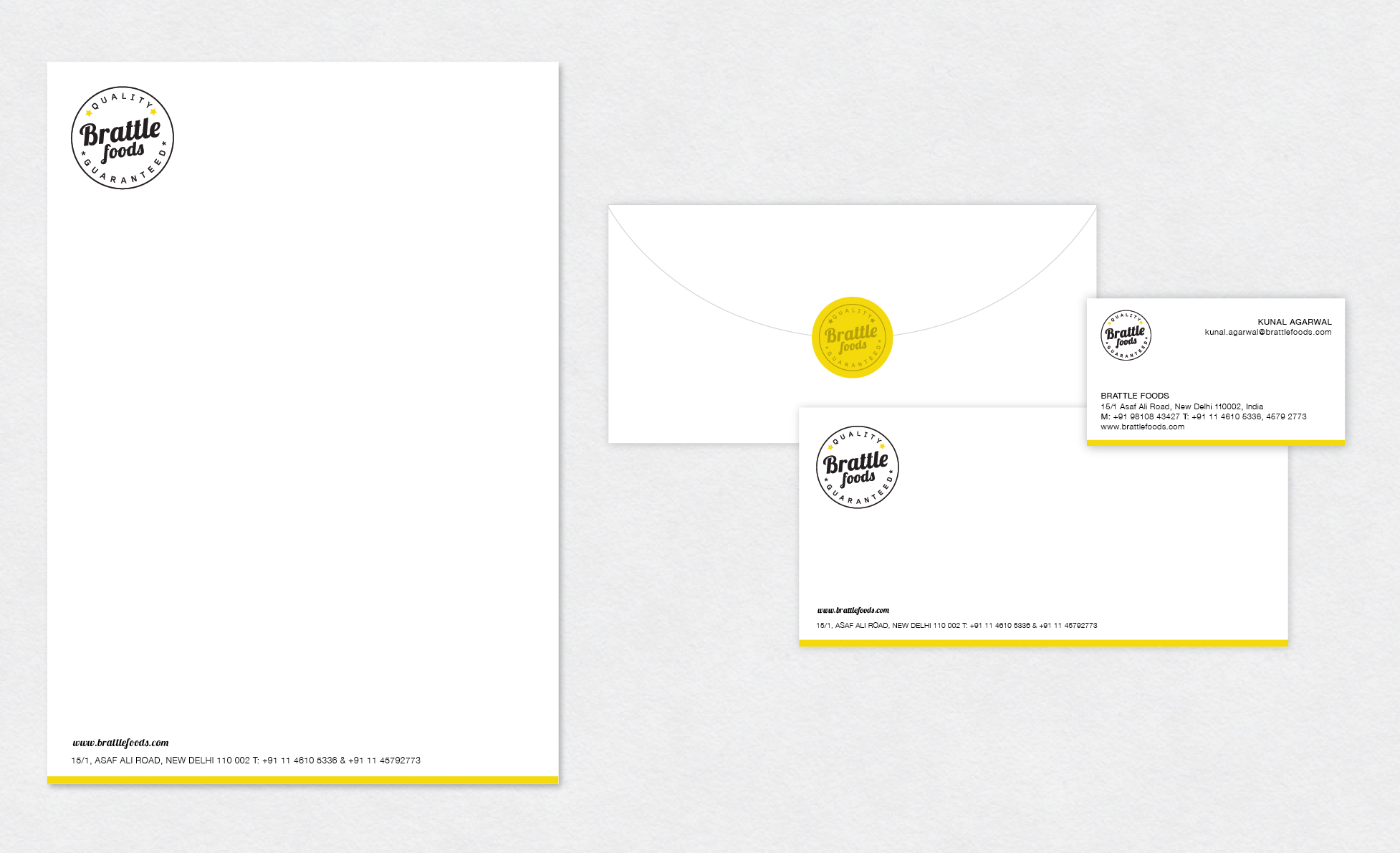 LWD - Brattle foods stationery