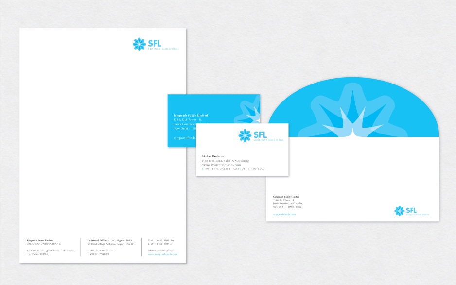 LWD-Samprash Foods stationery