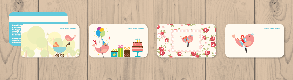 LWD - Little West Street Cards