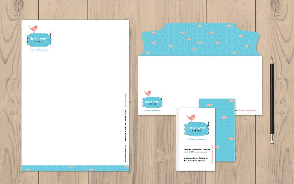 LWD - Little West Street stationery